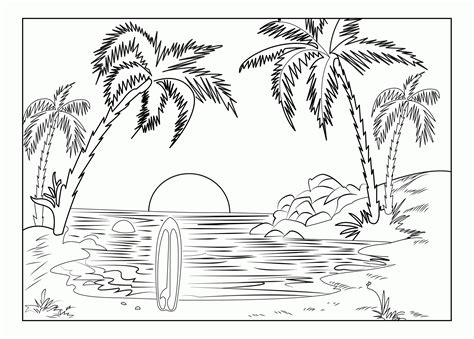 coloring pages of landscapes adult coloring pages landscapes coloring home