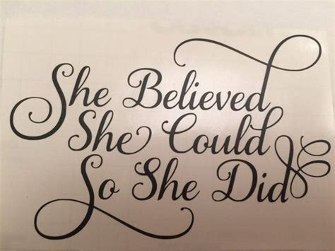 she believed she could tattoo she believed she could so she did by kissmymonograms on