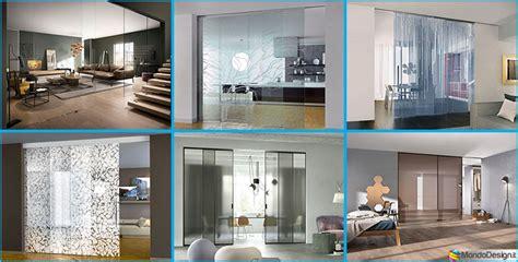 pareti scorrevoli in vetro per interni eleganti pareti divisorie scorrevoli in vetro per
