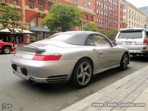 porsche 911 turbo spotted in boston massachusetts on 09