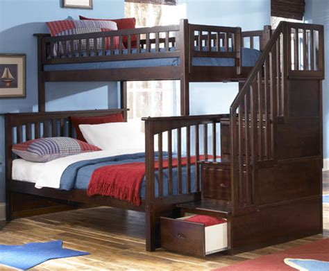 3 bunk beds with stairs bunk beds with stairs 3 bunk bed