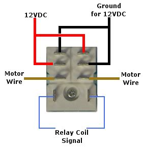 12 volt pole throw relay dpdt