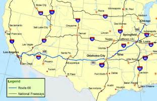 us map routes route 66 map route a discover our shared heritage travel