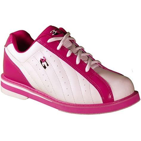 3g kicks white pink bowling shoes on sale