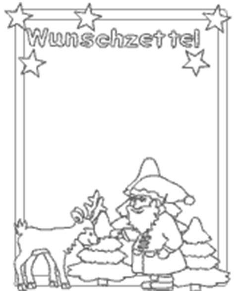 Word Vorlage Wunschzettel Weihnachtswunschzettel F 252 R Kinder Im Kidsweb De