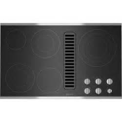downdraft cooktops electric radiant downdraft cooktop 36 quot jenn air