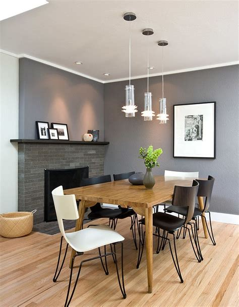 Contemporary Dining Rooms 25 And Exquisite Gray Dining Room Ideas