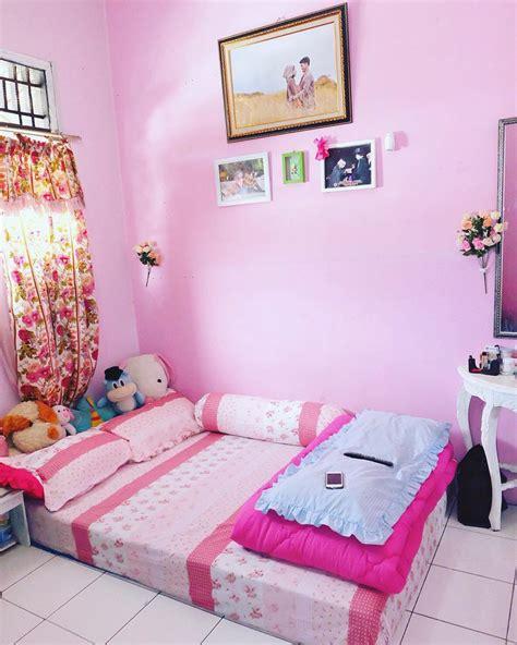 desain dinding kamar belang belang pink contoh gambar rumah indah blog images