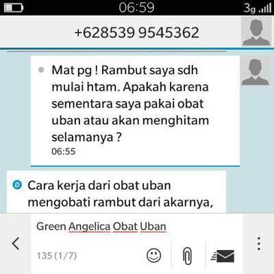 Obat Uban Green Jakarta Barat Kota Jakarta Barat Daerah Khusus Ibukota Jakarta obat uban alami penghilang uban dan penghitam rambut