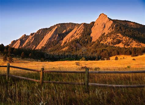 Of Colorado Boulder Part Time Mba by Flatiron Mountain Vista In Boulder Colorado Stock Image