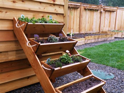 4 36 Quot Large Planters For Raised Bed Vegetable Garden For Planter Box Vegetable Garden