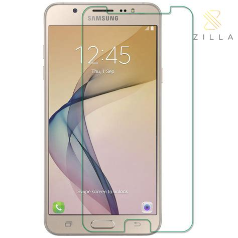 Tempered Glass Curved Edge 9h 0 26mm For Samsung Galaxy J7 Prime zilla 2 5d tempered glass curved edge 9h 0 26mm for