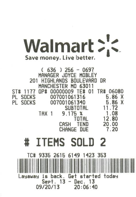 Walmart Receipts Templates by Receipt Walmart Receipt By Walmart Receipt Catcher