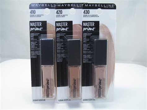 Eyeshadow Primer Maybelline Maybelline Master Prime Lasting Eyeshadow Base Review