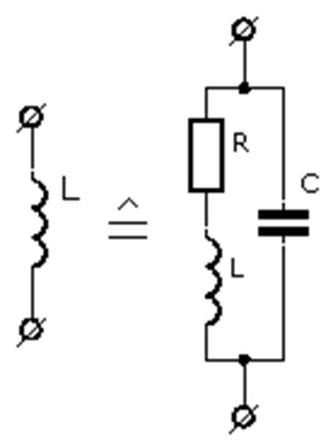 model for inductor measuring inductance electronic measurements