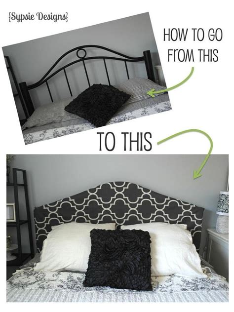 how to cover a headboard 17 best ideas about headboard cover on pinterest