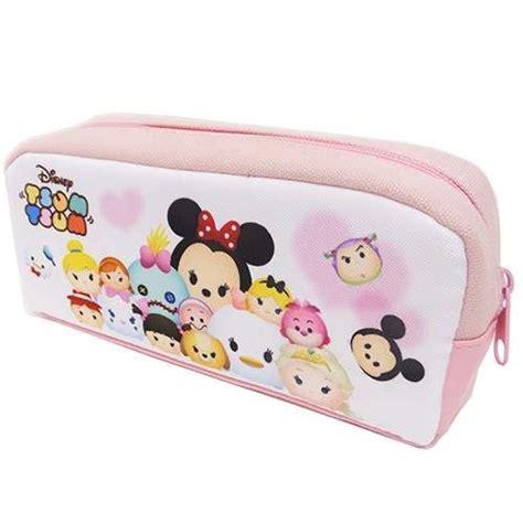 Disney Tsum Tsum Tote Bag Pink 3 disney tsum tsum pencil disney purses bags