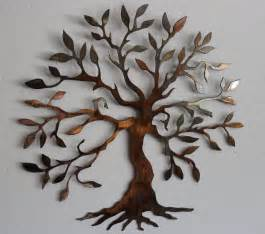olive tree tree of life metal wall art by heavensgatemetalwork