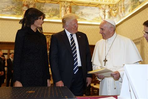 trump pope francis we can use peace trump and pope francis meet at the
