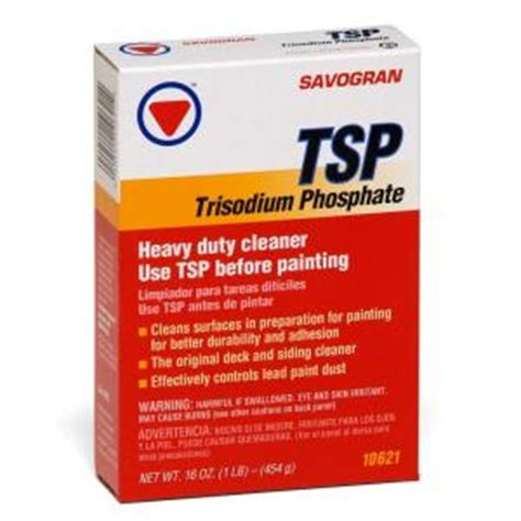 oxalic acid home depot savogran 1 lb box tsp heavy duty cleaner 10621 the home