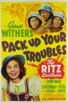 film pack up your troubles pack up your troubles 1939 film wikipedia