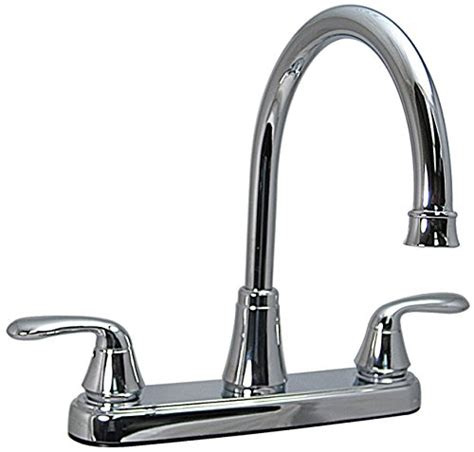 two handle kitchen faucet repair rb5602 i chrome two handle hi arc kitchen faucet just rv parts accessories