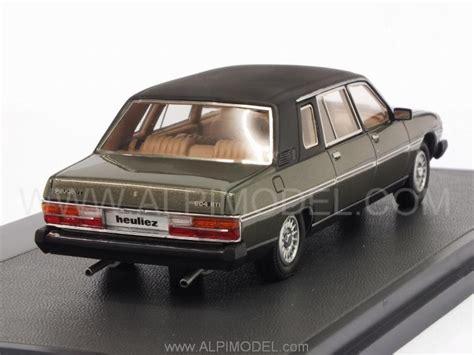 peugeot 1980 models matrix models peugeot 604 heuliez limousine 1980 green