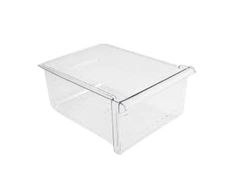 whirlpool refrigerator parts vegetable drawer ge 36378672893 lower vegetable crisper drawer left or