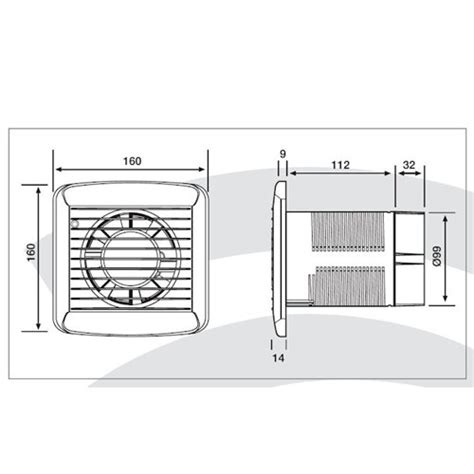 in line bathroom fan with humidistat xpelair sl100ht ac axial fan with humidistat timer at uk