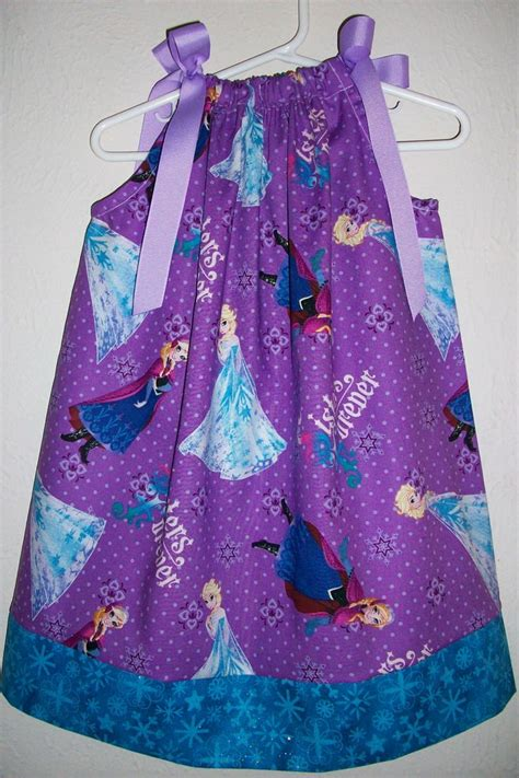 Sgw234f 70 Dress Frozen Elsa Purple 12 pillowcase dress disney frozen elsa by lilsweetieboutique 18 00 frozen