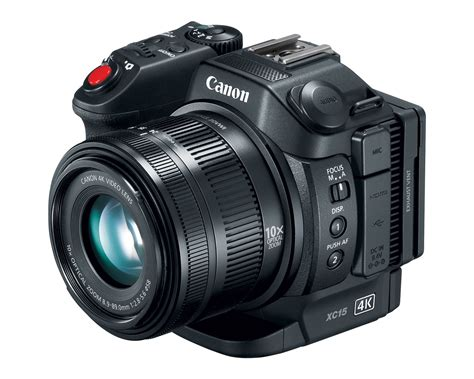 and camcorder canon announce xc15 4k uhd camcorder canonwatch