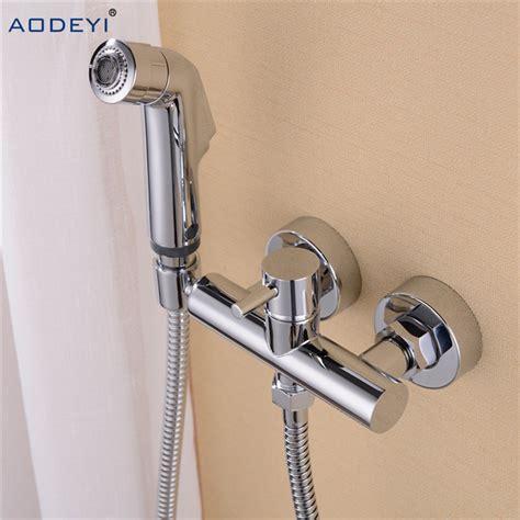 Shower Bidet Jet Shower Waser kaufen gro 223 handel wc dusche aus china wc dusche