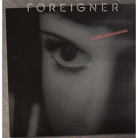 inside information by foreigner lp gatefold with grigo ref 117571059