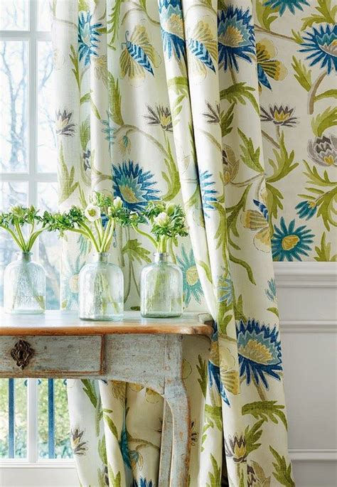 turquoise and green curtains house of turquoise thibaut dining rooms decor blue