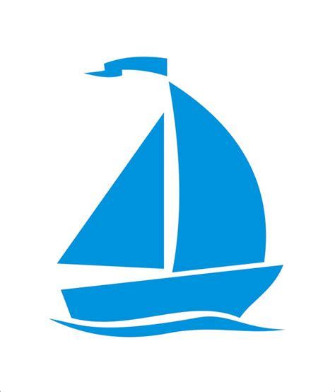 sailboat sizes sailboat sail boat beach reusable stencil 7 sizes