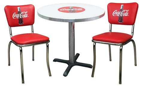 Coca Cola Table And Stools by Retro Coca Cola Furniture Stools Table And Chairs