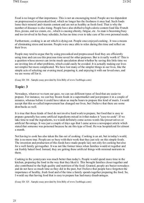 Toefl Writing Topics And Model Essays by 185 Toefl Writing Topics And Model Essays