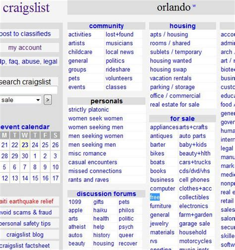 how to find free stuff on craigslist