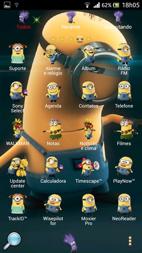 themes android minions windows and android free downloads apk