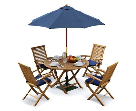 Folding Patio Table And Chairs Ashdown Folding Garden Table And Arm Chairs Set Patio Outdoor Dining Set Teak