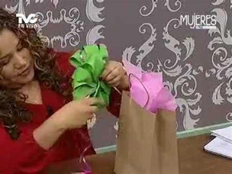 como decorar dulceros con papel china c 243 mo hacer mo 241 os para decorar un regalo metvc youtube