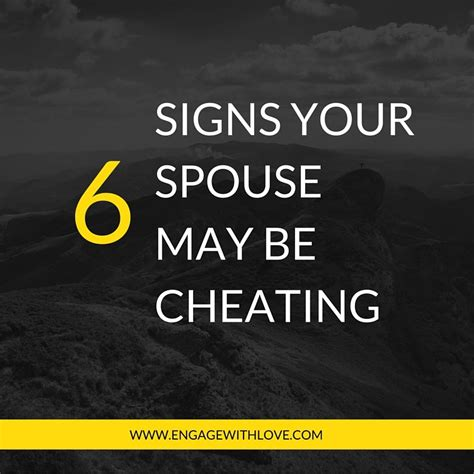 Signs You And Your Partner May Need A by Signs My Spouse Is An Affair Archives Engage With