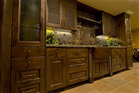 Painted Kitchen Cabinets by Rustic Kitchens