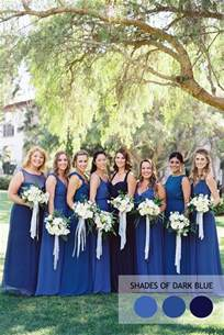 bridesmaid colors mix and match bridesmaid dresses by colours
