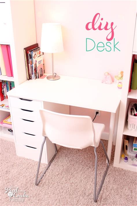 diy custom desk diy custom desk and ikea hack tip junkie