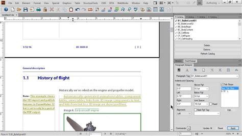 page layout design basics adobe framemaker 2015 basics of paragraph design