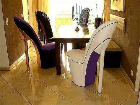 Stiletto Shoe Chairs by High Heel Chairs Dining Room For The Home Decor