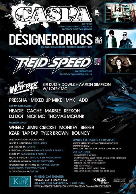 champion sound  caspa designer drugs reid spee
