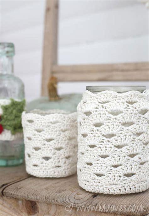 crochet pattern jar cozy arcade stitch jar cosy free crochet pattern