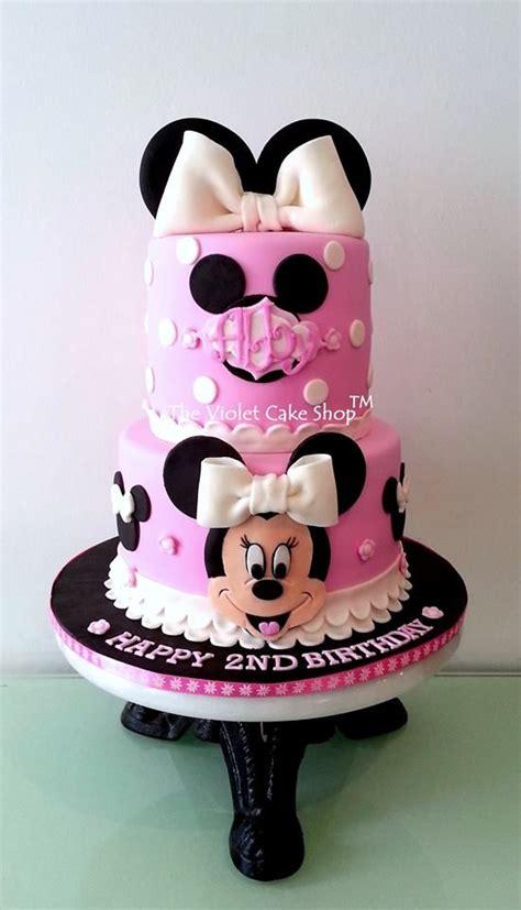 Boneka Micky Minnie Mouse minnie cake on celebration cakes minnie cake cake and designer cakes